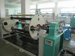 PE.EVA film production line with automatic winding system