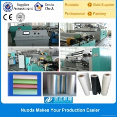 Automatic Opaque Soft Touch Casting Film Extruder Machine