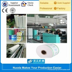food package film one screw extruder machines line