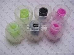 Silica gel earplugs silica gel ear set