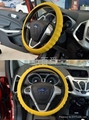 The silicone steering wheel covers