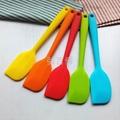 Recuperated silicone spatula