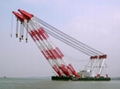 cheap sell floating crane 100t 200t 300t 400t 500t 600t 700t 800t 2