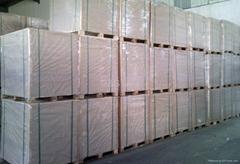 Duplex board White back laser paper,holographic paper