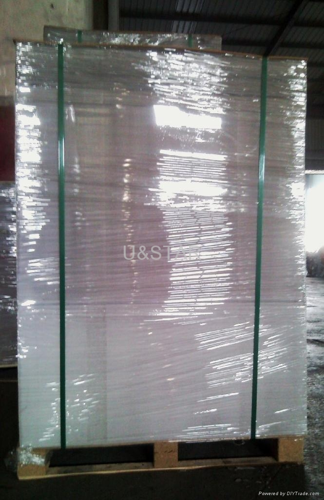 Duplex board White back laser paper,holographic paper 2