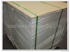 white face grey back duplex board holographic paper