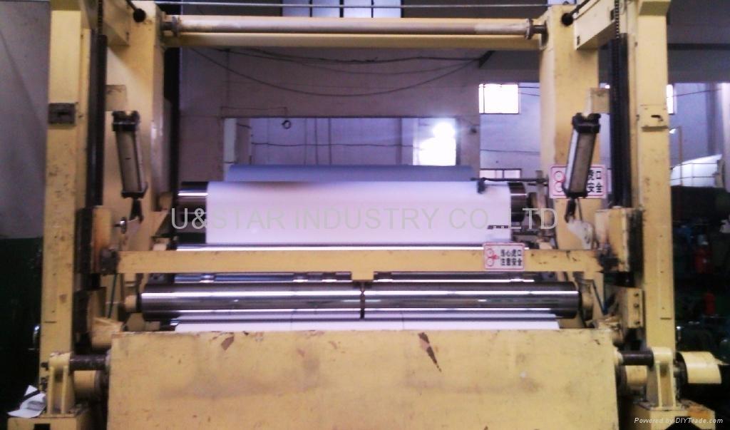 white/duplex paperboard ROLLING machine