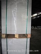 white face grey back duplex board holographic paper 5