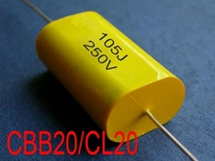 Metallized Polypropylene Film Capacitor-Axial[MPT/MPA]