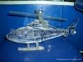 西安水晶飛機模型 2