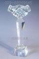 西安水晶飛機模型 4