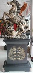 西安慶典馬到成功大擺件工藝品