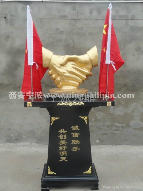 西安慶典馬到成功大擺件工藝品 3