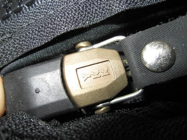 YKK waterproof zip