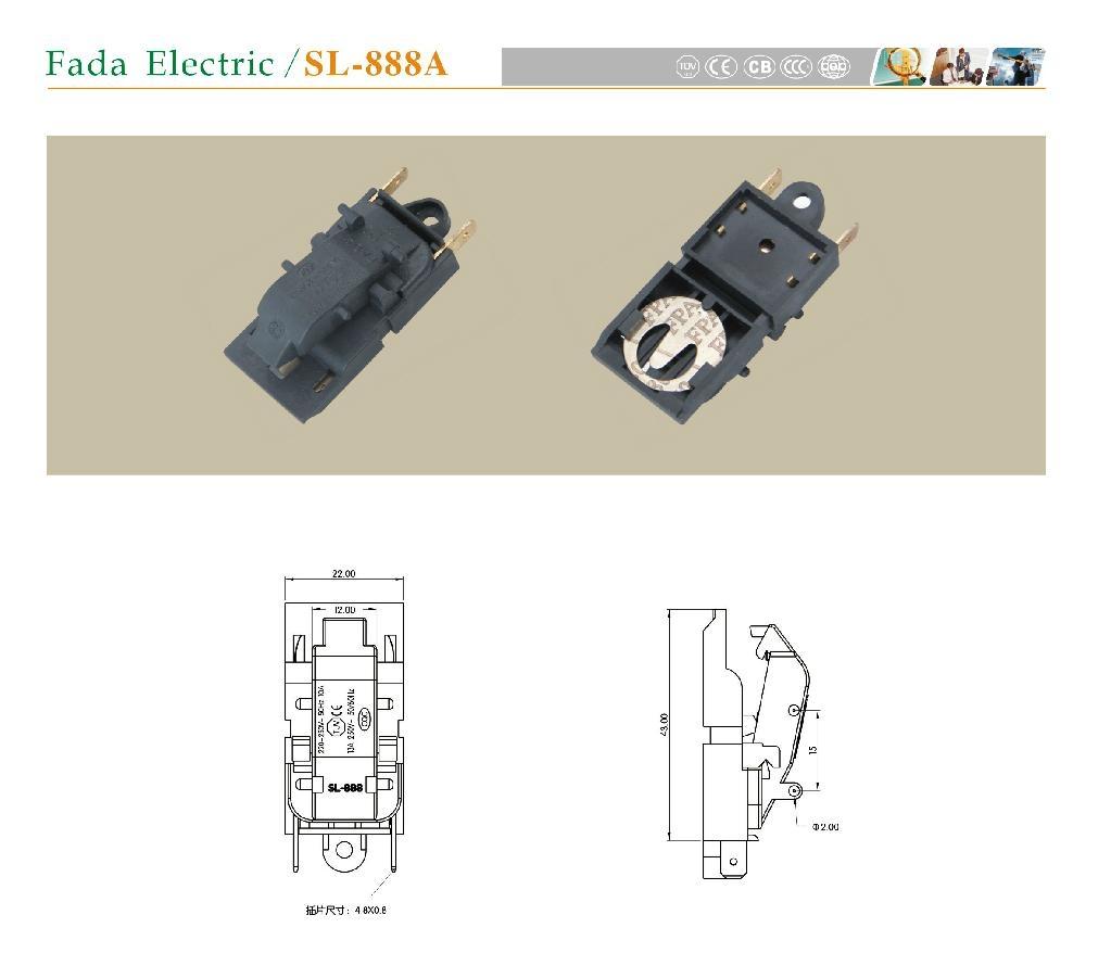 電熱水壺SL-888A 蒸汽開關 1