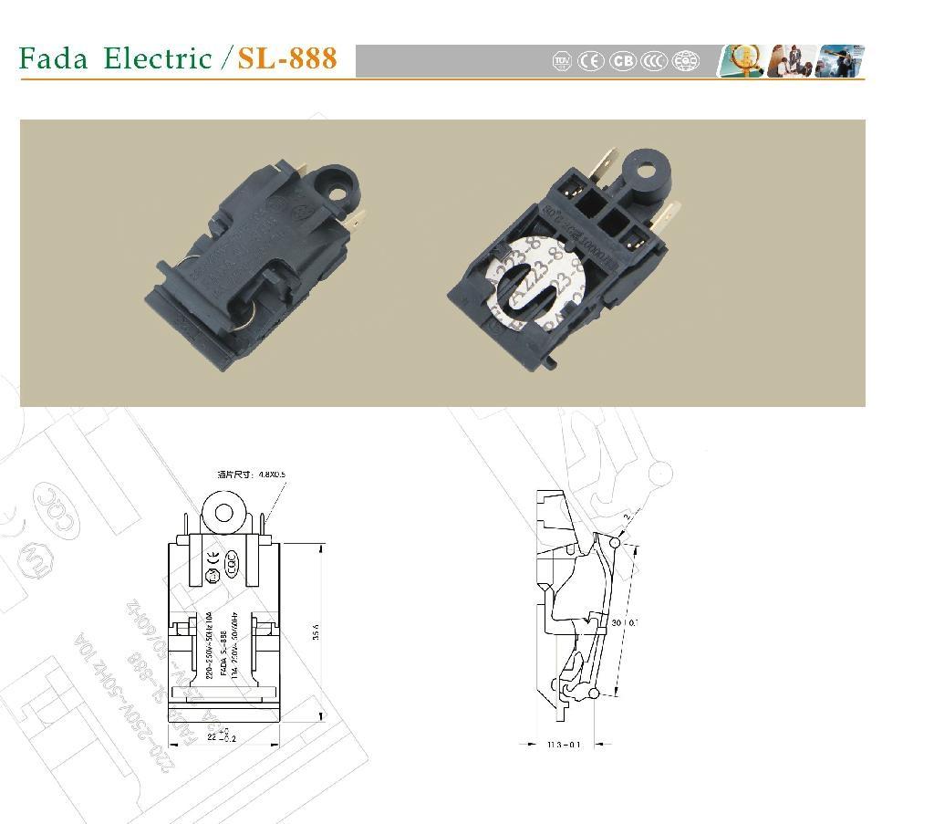 电热水壶 SL-888 蒸汽开关 1