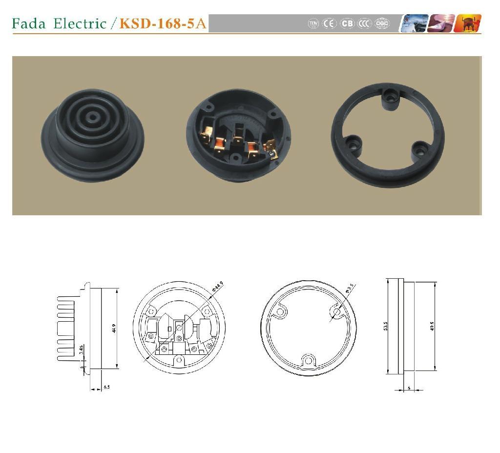 電熱水壺KSD-168-5A 耦合器 1