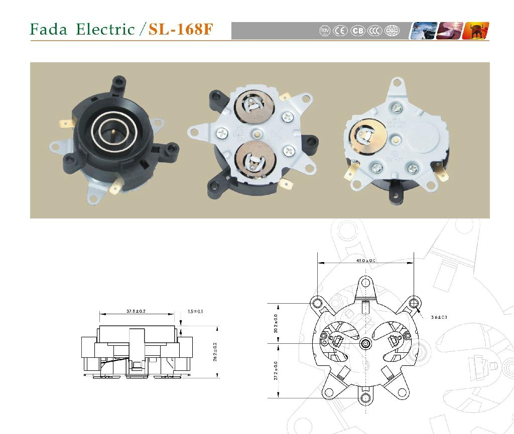 發達電器電熱水壺溫控器 1
