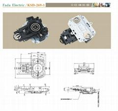 KSD-169-B horizontal kettle thermostat