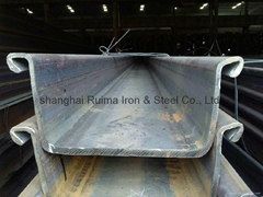 Top-quality hot-rolled steel sheet pile against low price