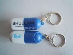 pill box keyrings,pill box keychains