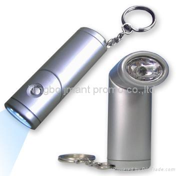 Swivel Head led keychain flashlight 1