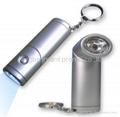 Swivel Head led keychain flashlight