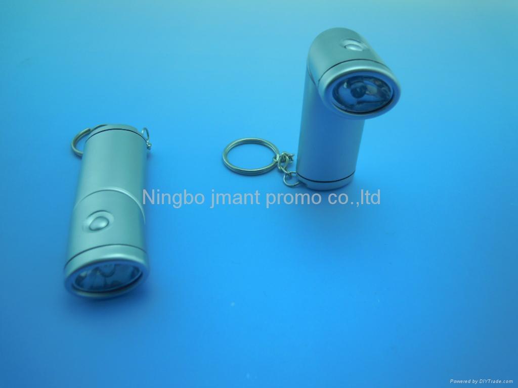 Swivel Head led keychain flashlight 2