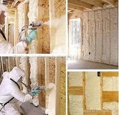 聚氨酯現場噴塗保溫材料