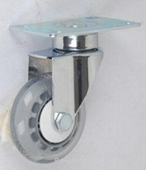 3寸鍍絡平底活動醫療腳輪