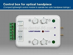control box for optical handpiece