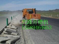 农用车路牙石刨沟机 路沿石开槽机
