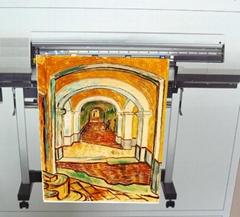 AP-153(背纸) 水性雾面耐水单透绢布(Water Dye & Water Pigment ink)