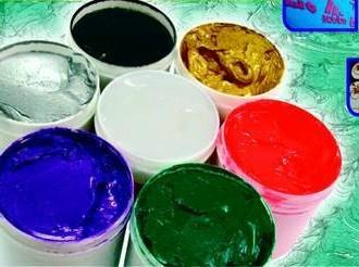 (不含PVC) PLASTISOL INK  印花不乾膠(通過ECO-PASSPORT) 1