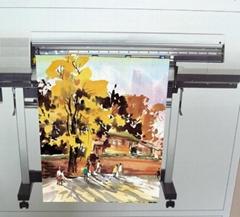 AP-5909-S 油性亮面耐水布紋油畫布(Solvent & Eco-Solve & Latex & UV)
