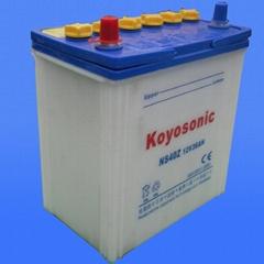 Dry charge automotive battery -NS40Z-12V36AH