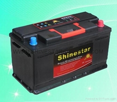 Sell DIN100 12V100AH maintenance free auto battery