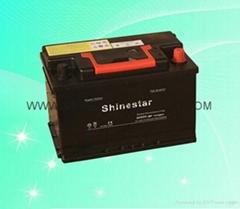 Produce DIN55 MF car battery