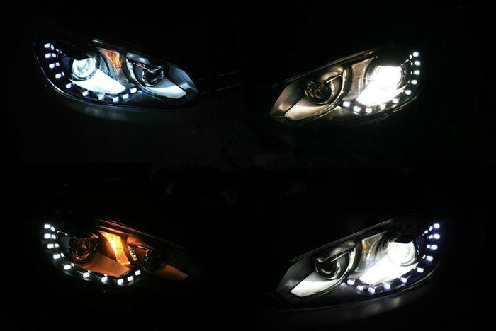 volkswagen golf 6 xenon headlight golf 6 mk6 winpower 2010 2011 2012 vw golf 6 headlights. Black Bedroom Furniture Sets. Home Design Ideas