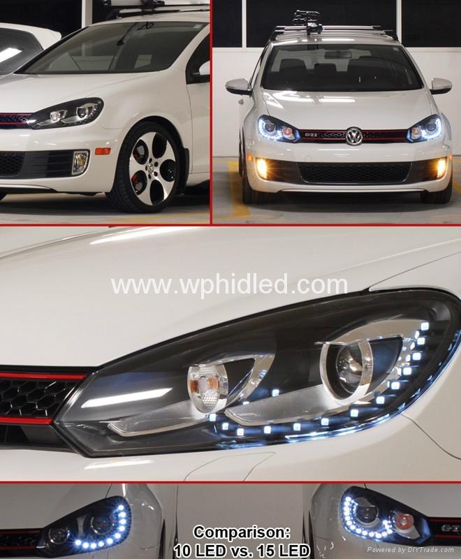 2010 2012 vw golf mk6 xenon headlight vw golf 6 winpower 2010 2010 2012 vw golf mk6. Black Bedroom Furniture Sets. Home Design Ideas