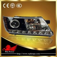 2009-2014 Dodge Journey JCUV led front headlight LED strip light LED turn light