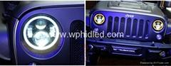 7'' inch LED headlight for 2007-2013 Jeep Wrangler headlight CJ-7 CJ-8 replaceme