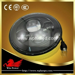 7'' LED headlight for 2007-2013 Jeep Wrangler headlight replacement kit