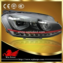 Upgrade LED headlight for VW Volkswagen golf MK7 GTI headlight LED DRL LED turn