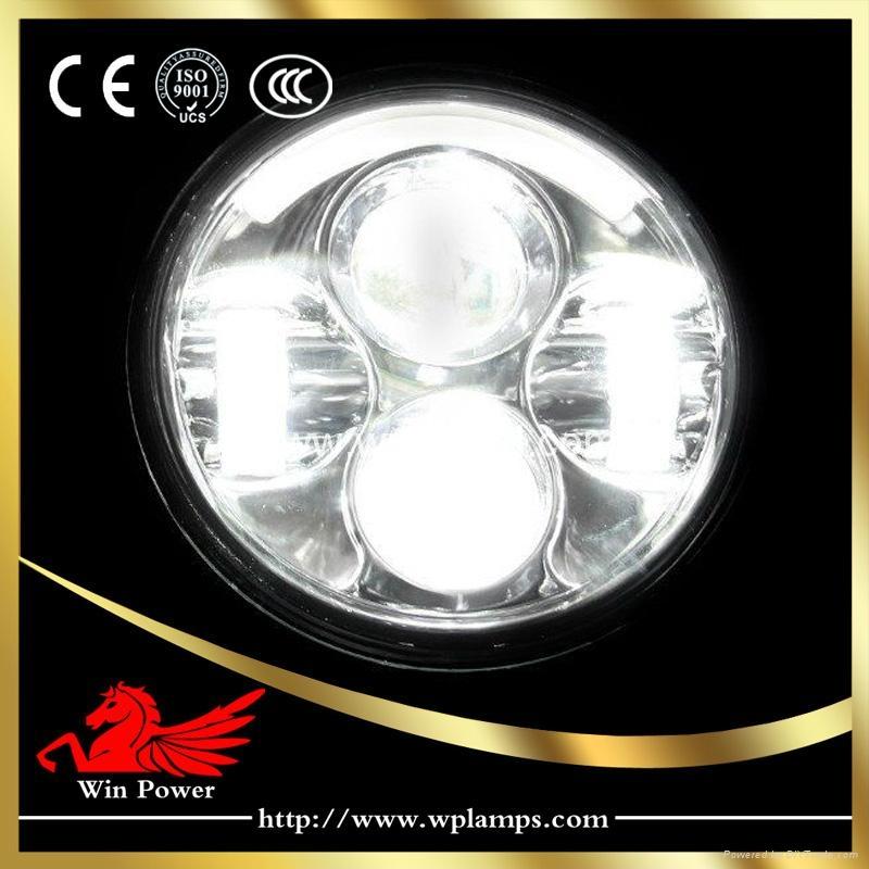 5.65寸哈雷摩托車LED 大燈 1