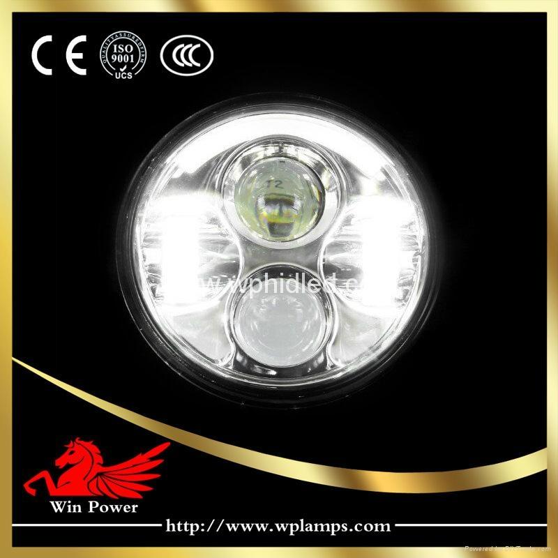 5.65寸哈雷摩托車LED 大燈 3