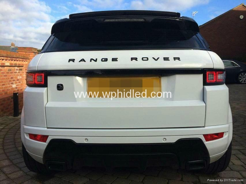 led tail light for land rover range rover evoque led rear. Black Bedroom Furniture Sets. Home Design Ideas