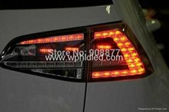 For Volkswagen VW golf 7 LED tail light Golf MK7 smoke black