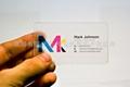 RFID Transparent ISO PVC Card