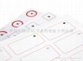 RFID Inlay Prelams 2 x 5 format